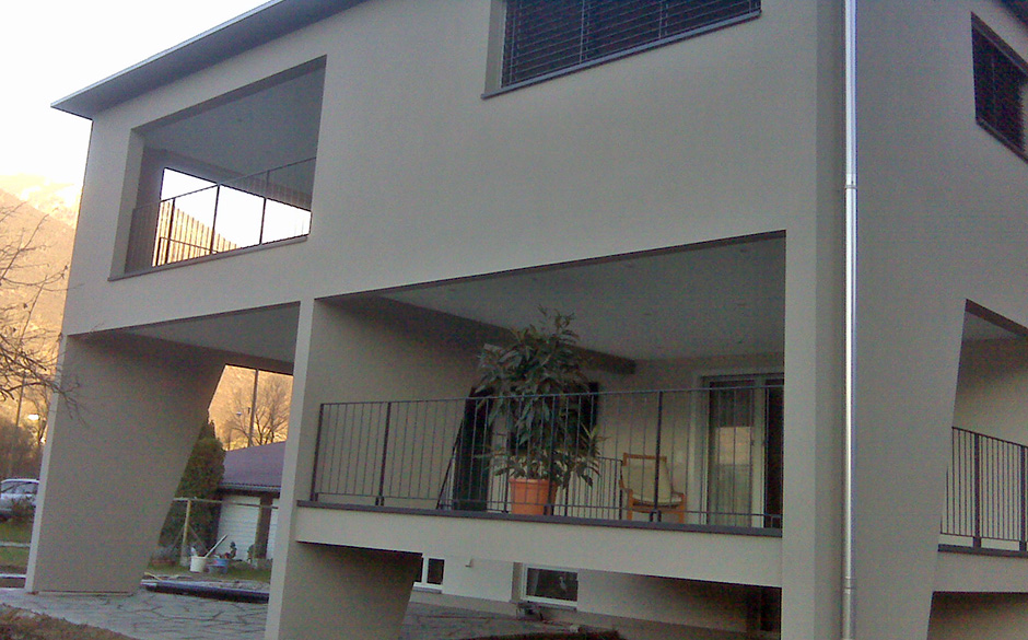 Carpenteria alpina progetti for Piani casa linea tetto singolo